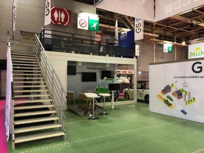 Un stand modulaire JAMART au salon de l'agriculture!