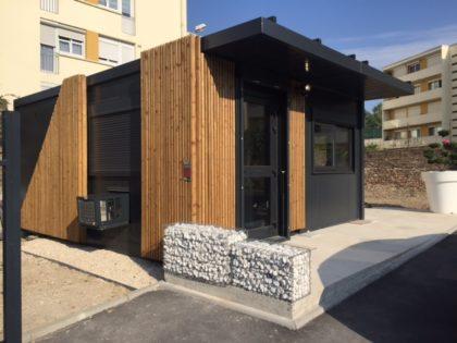 Un ensemble modulaire JAMART design parfaitement intégré à l'environnement urbain de St Quentin!