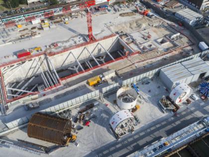 JAMART LOCATION MODULAIRE fourni des hangars modulaires sur le chantier de la ligne 15 du Grand Paris!