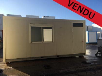 VENDU – Module unitaire LOXAM 2 grandes fenêtres 15m²
