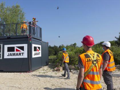 Poste de surveillance héliporté – Axo'plage – Lac de Monampteuil – 2021
